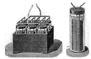 A bateria de chumbo ácida foi criada por Gaston Planté.