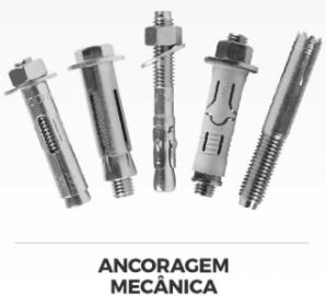 5 tipos de chumbadores mecânicos.