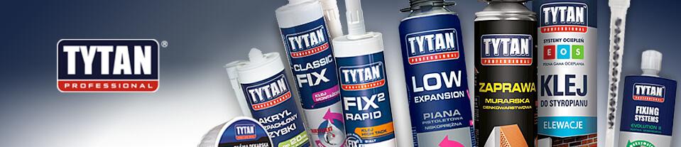 Linha de produtos da Tytan Professional.