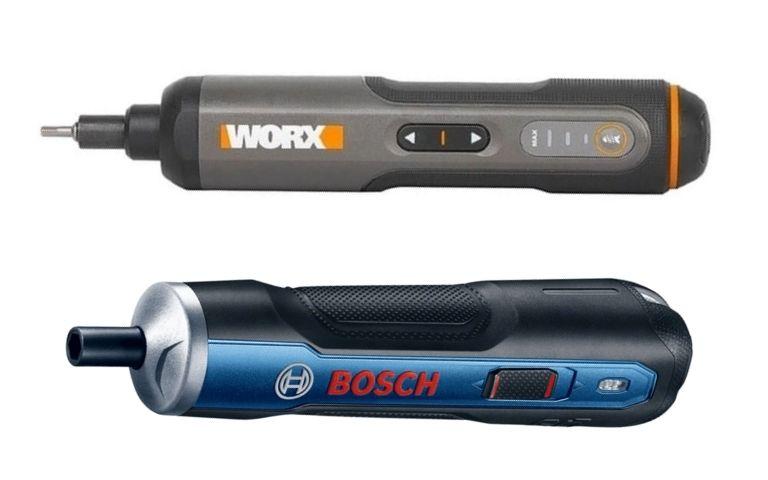 Bosch Go X Screwdriver da Worx: qual parafusadeira comprar?