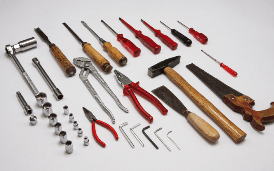 Investir em uma boa marca de ferramenta manual faz toda a diferença!