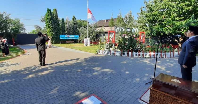 Khidmat dan Hangat, Upacara HUT ke-76 RI di Ukraina