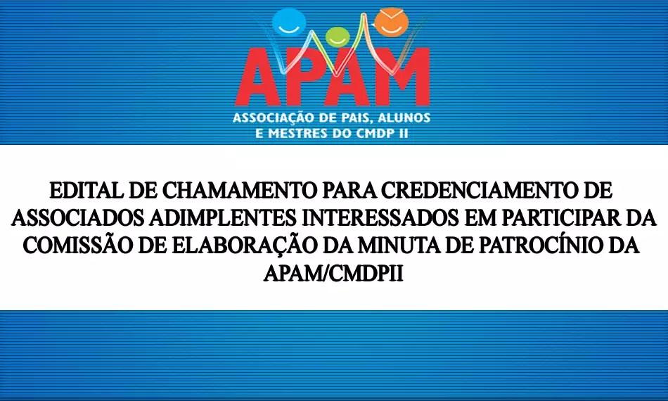 EDITAL DE CHAMAMENTO