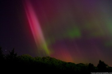 Extreme Class Geomagnetic Storm Over Nebraska