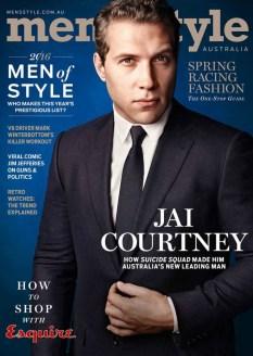 a Mens Style Magazine Australia - Spring 2016 featuring Jai Courtney
