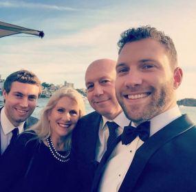 Jai, Chris and Karen Courtney