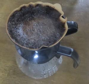 コーヒーをたてる