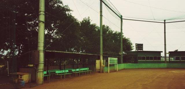 高校の野球グランド
