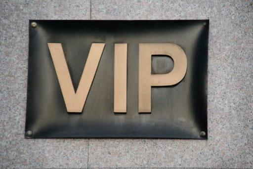 条件を満たすとVIP会員として特別待遇を受けられる