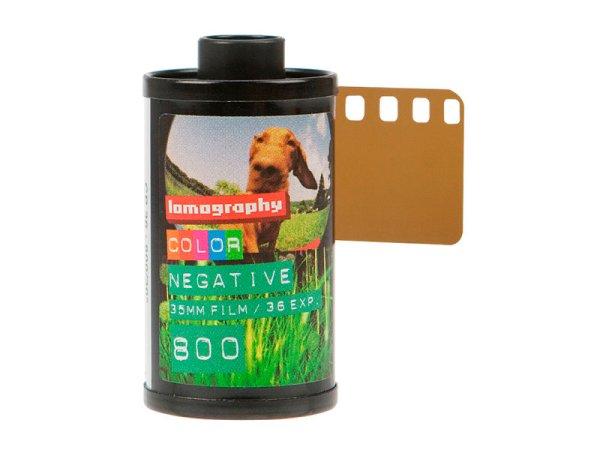 Film Lomo Color Negative 800 - czyli klisza typu 135