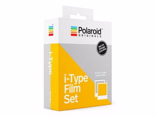 Polaroid Oryginals i-Type Color + BW to dwa wkłady przeznaczone do aparatów i-Type (np. Impossible I-1 czy Polaroid Oryginals OneStep 2/OneStep+). Wystarczają na wykonanie łącznie 16 zdjęć w klasycznej białej ramce.