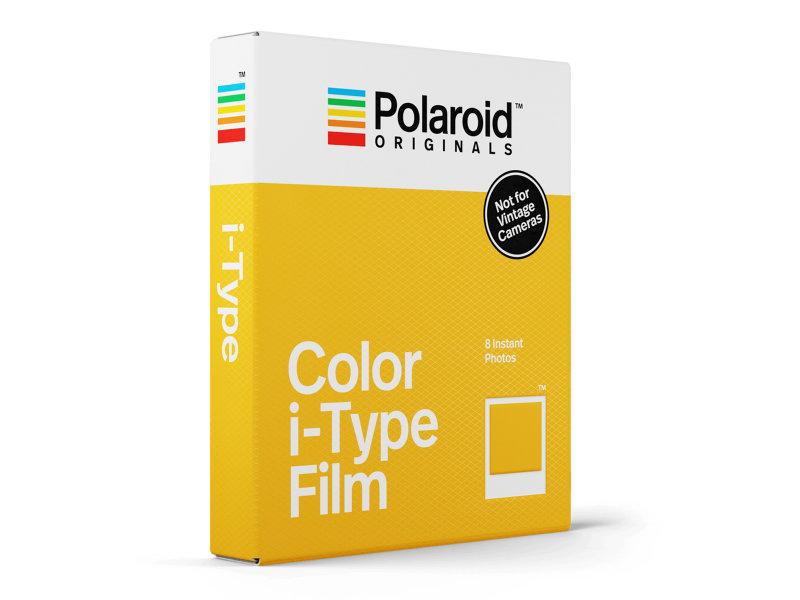 Wkład typu i-Type od Polaroid Originals (dawniej Impossible Project), zamiennik dla oryginalnych wkładów produkowanych kiedyś na innej recepturze.png