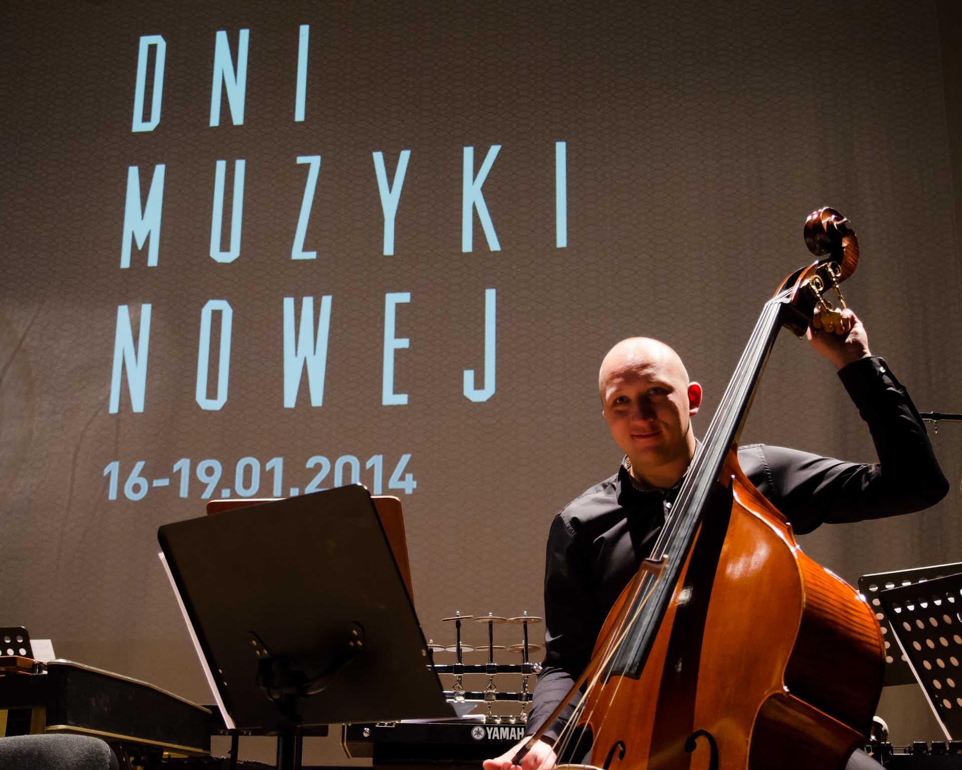Dni Muzyki Nowej w Klubie ŻAK w Gdańsku, 2014r., fot. Rafał Nitychoruk www.zaduzoslow.pl