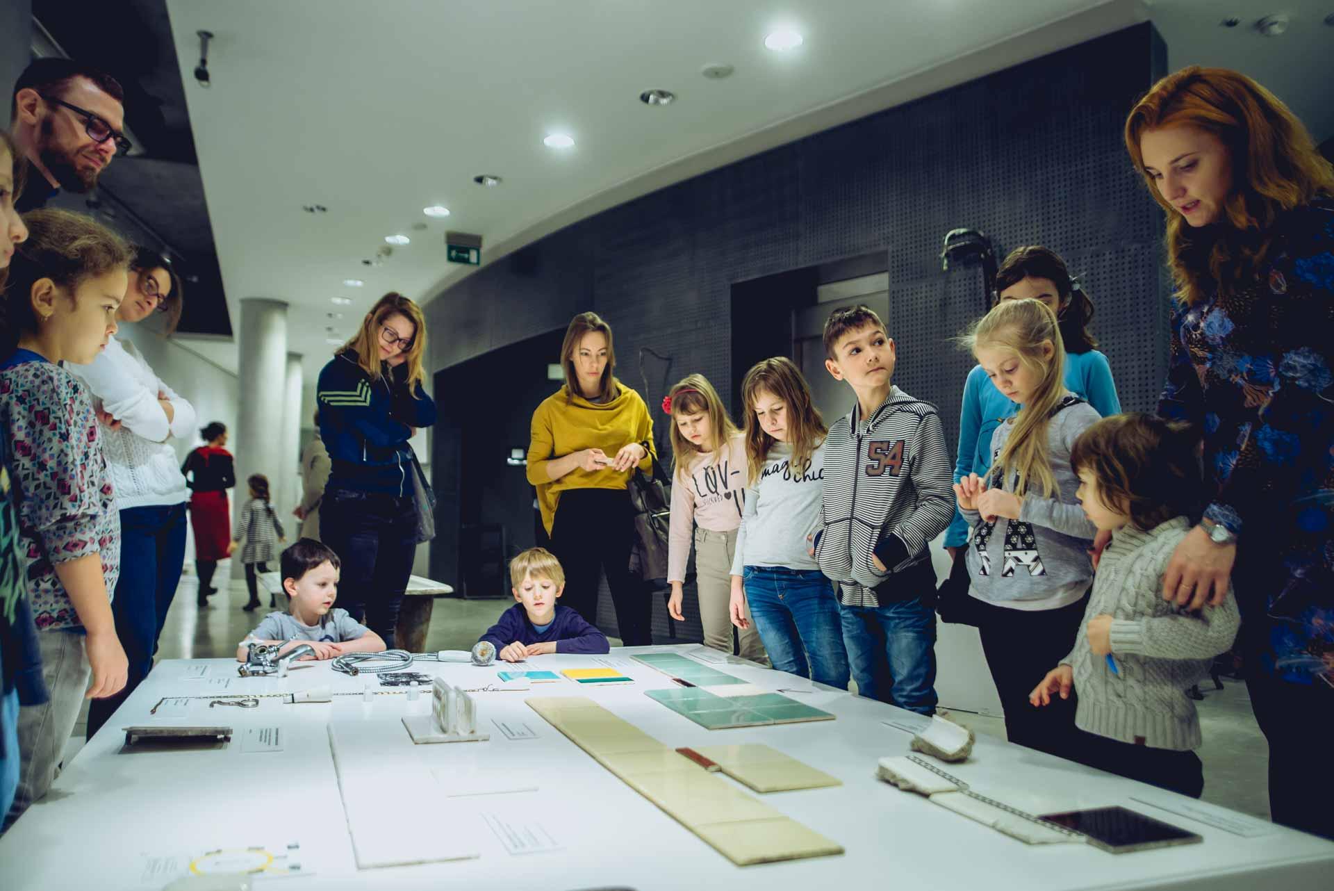 Fotografia z warsztatów w Muzeum Miasta Gdyni