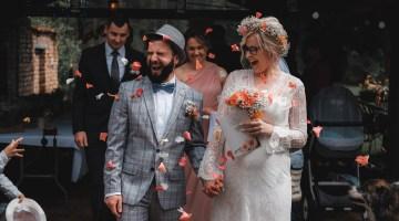 Ślub i wesele w klimacie slow wedding pod Iławą, w województwie warmińsko-mazurskim - fotograf ślubny Rafał Nitychoruk