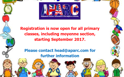 Registration is Now Open for September 2017