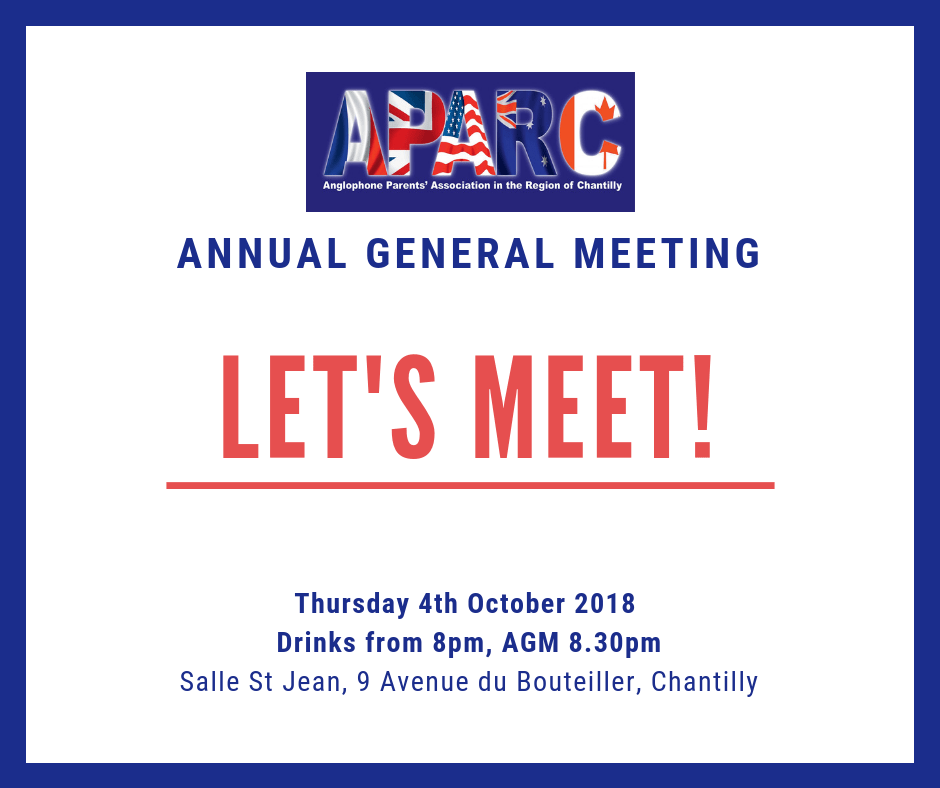 Annual General Meeting APARC 2018