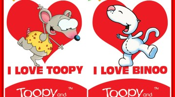 Celebrate Valentine's Day With Toopy And Binoo