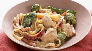 Chicken and Veggie Pasta Primavera