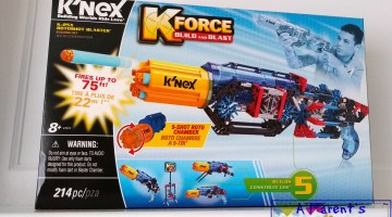 Building and Blasting With a K'NEX K-25X Rotoshot  #GiftGuide