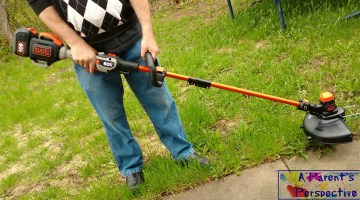 Change It Up, Get Dad A Black+Decker 60V String Trimmer For Father's Day