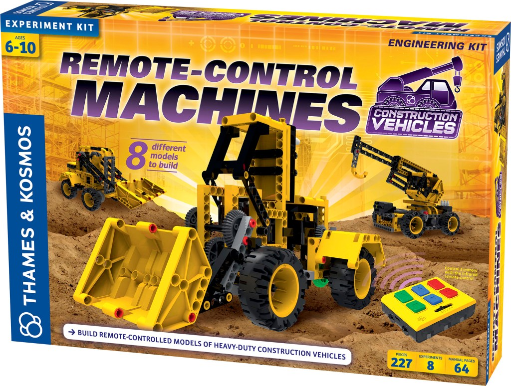 Remote Control Machines: Construction Vehicles