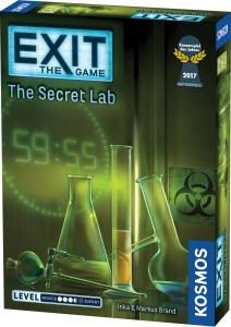 Exit The Game: The Secret Lab