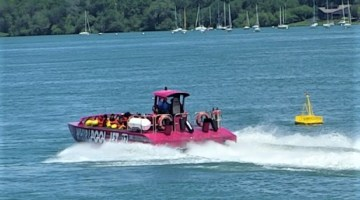 Running The Niagara River With Whirlpool Jet Boat Tours
