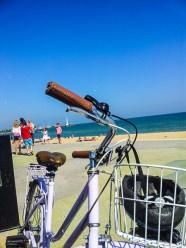 De bike em St. Kilda