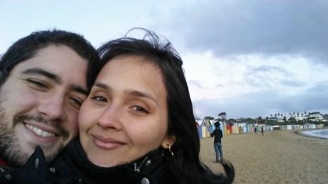 Still at Brighton beach