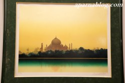 Taj Mahal by a French artist.