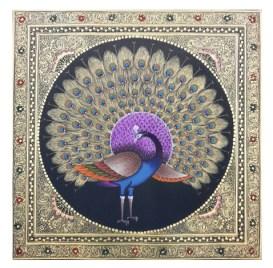 Dancing Peacock: Semi-precious