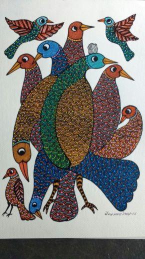 Birds Flocking: Godadh