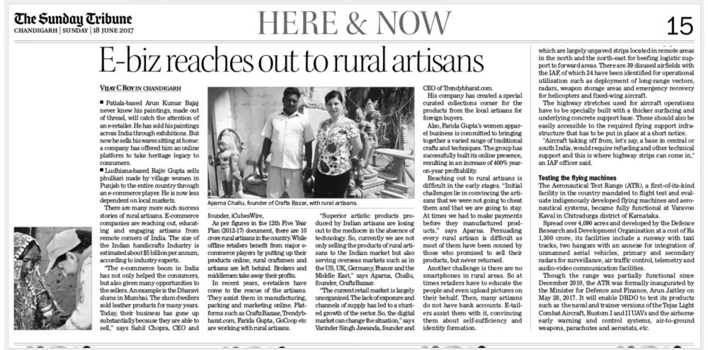 The-Tribune-CraftsBazaar-Aparna-Challu-CEO-New