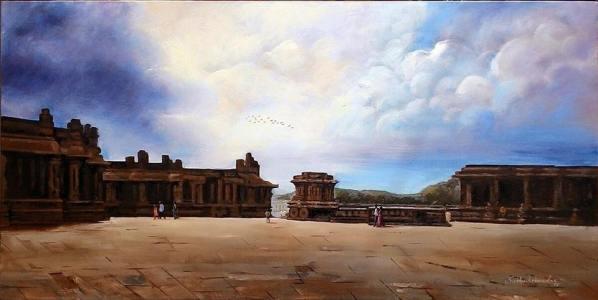 Meet-the-Master-Series-Shree-Subhash-Chandra-Gowda-Master-painter-in-Water-Colours-Karnataka-India-Aparna-Challu-jpg (11)