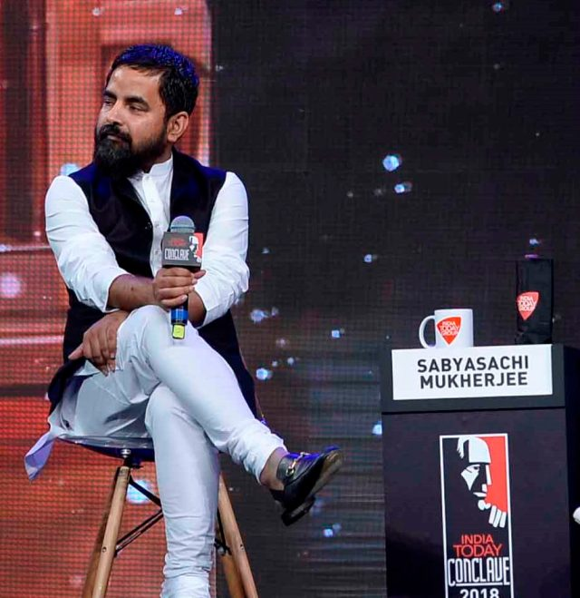 Couldn't Have Made The Saree Global Without Collective Consciousness: Sabyasachi Mukherjee