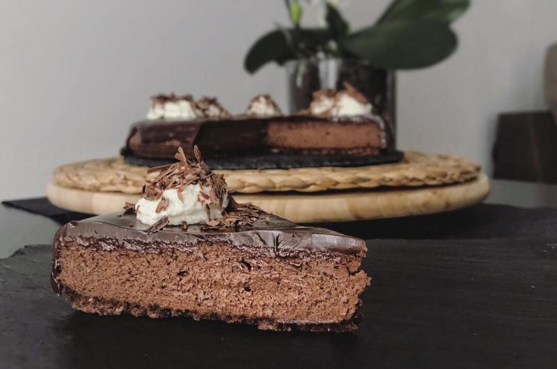 Най-вкусният шоколадов чийзкейк
