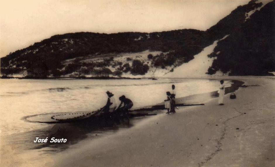 Morro do Careca em 1959