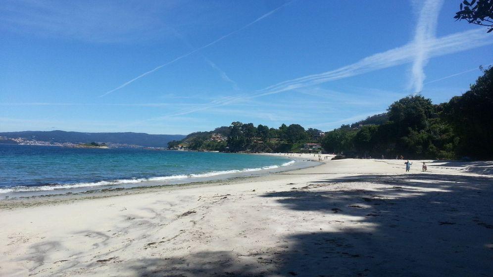 Playa de Lapamán desde el sur