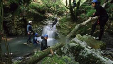 Asturias, Descenso Barrancos