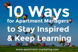 tips for apartment managers