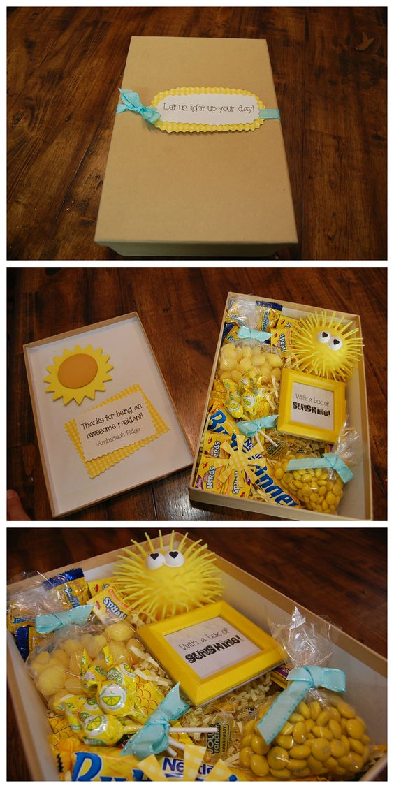 Box of Sunshine - Apartment Marketing Idea