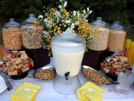 Cereal Bar - Apartment Marketing Ideas