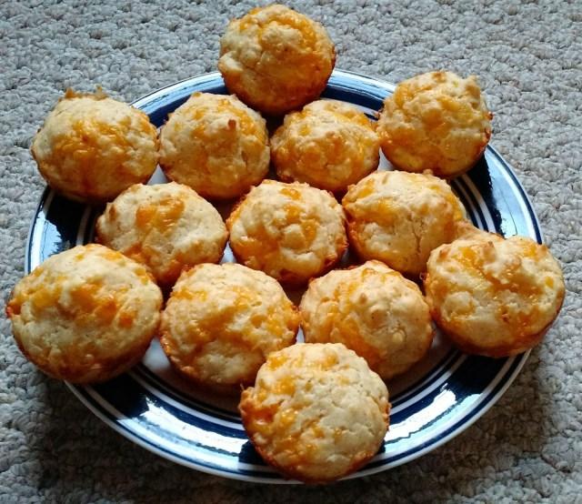 Arranged biscuits
