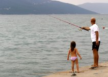 fishing in tivat