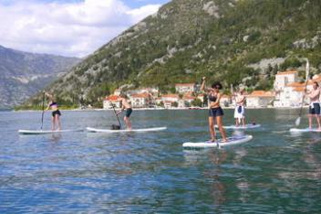 Stand-Up-Paddle-Montenegro