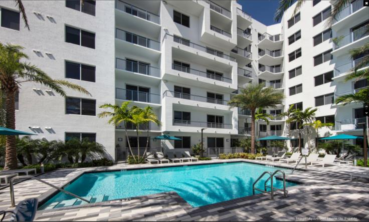 Avery Pompano Beach apartments sell for $43M