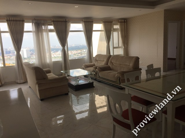 Proviewland000000000442 Penthouse apartment in Saigon Pearl 230sqm 3 bedrooms for rent