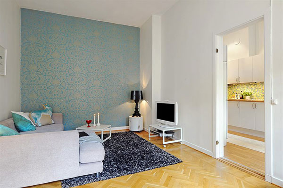 Small Apartment? Go White!