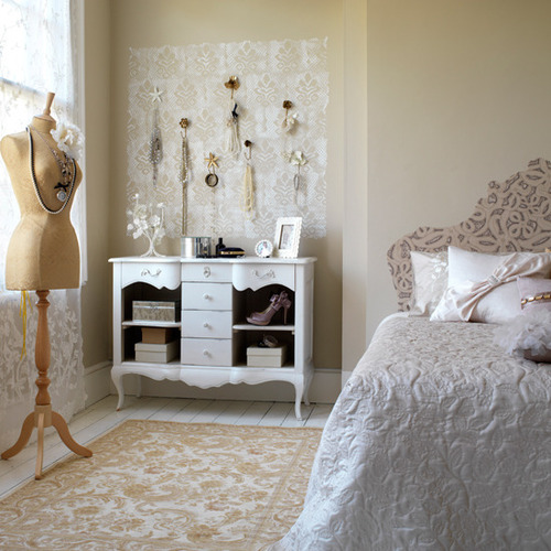 creative vintage bedroom